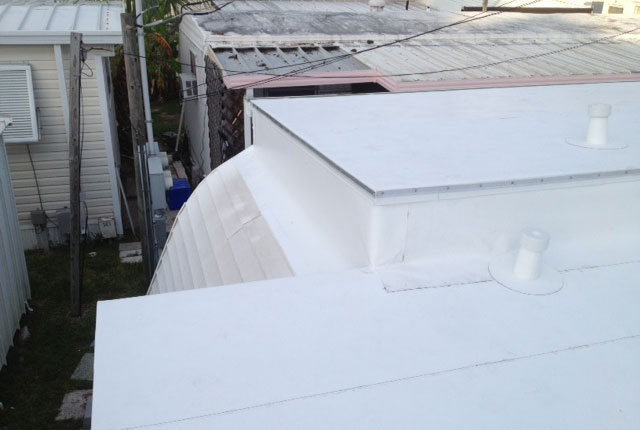 Mobile Home Roofing Option