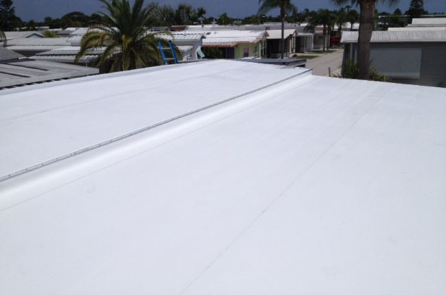 Mobile Home Rubber Roofing